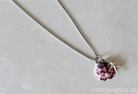 how to make shell jewelry unconventional crafts involving sea shells