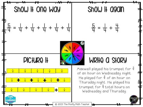 Decomposing Fractions Worksheet 4th Grade by Thursday Tool School Understanding Fractions Decomposing