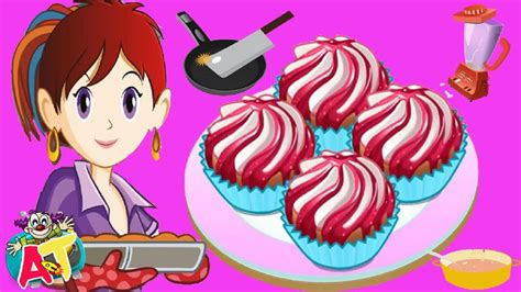 sara cocina juegos cocina con sara macarons y cupcakes juegos para cocinar