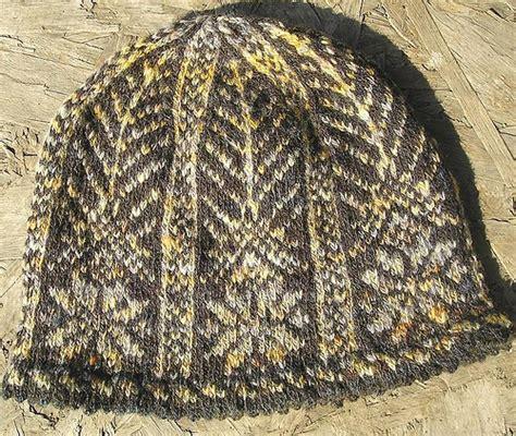 picot hem knitting knitting patterns galore picot hem stranded snowflake hat