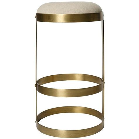 gold metal garden stool arroyo gold bamboo garden stool