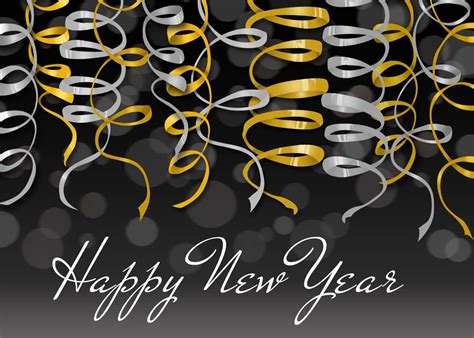 new year s streamers new year from cardsdirect