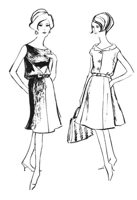 70s Sketches by Fashion Designers Sketches 1960s Www Imgkid The