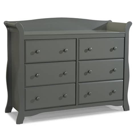 storkcraft avalon 6 drawer dresser cherry storkcraft avalon 6 drawer dresser in gray free shipping