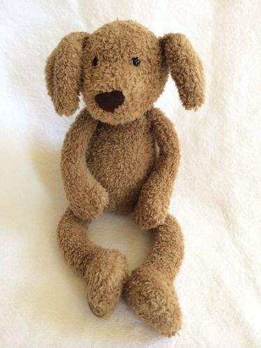 jellycat puppy jellycat puppy brown lovey plush stuffed animal floppy l