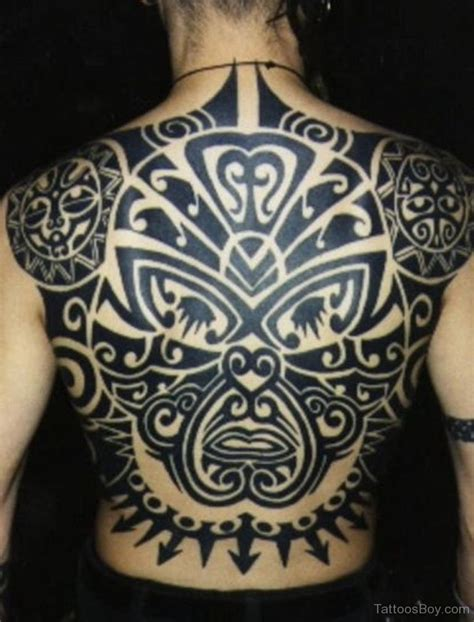 back tribal tattoo tribal tattoos designs pictures page 6