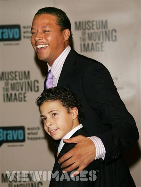 terrence howard twin chance terrence howard and his son hunter
