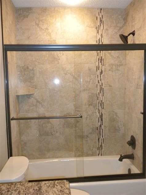 tile bathtub shower combo tub shower combos don t have to lack style the tub to