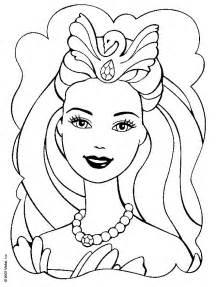 dessins de barbie a colorier az coloriage
