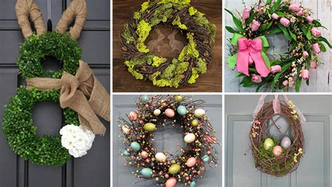 Handmade Wreath Ideas - 16 welcoming handmade easter wreath ideas you can diy to