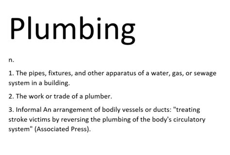 Definition Plumbing by Plumbing 12 Facts You Didn T About Plumbing