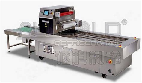 Modified Atmosphere And Vacuum Packaging To Extend The Shelf Of Respiring Food Products by Allcold Modified Atmosphere Packing Map Machine For