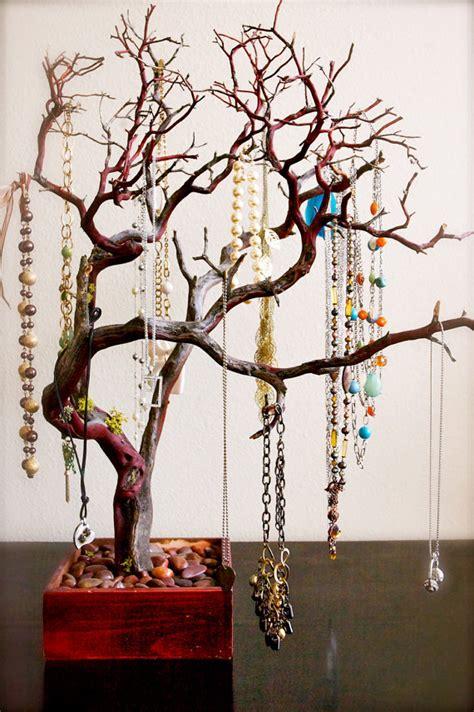 make a jewelry tree 30 jewelry tree jewelry organizer for east coast