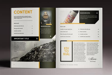 15 Indesign Magazine Brochure Templates Only 24 Mightydeals Magazine Brochure Template