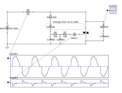 induction motor speed using triac click to view larger image