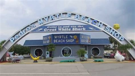 have a whale of a good time at pedro s myrtle beach shop