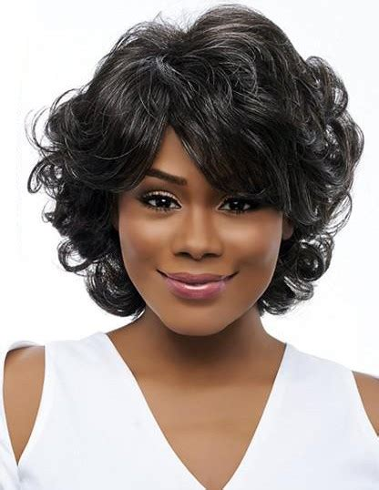 wigs for women at 50 years 50 years old women grey rinka curly hairstyle wigs