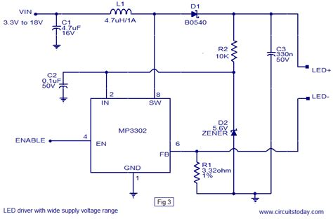 led driver diagram led driver ic
