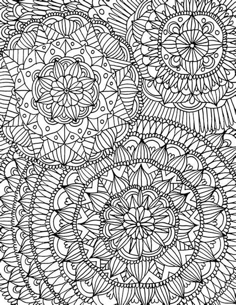 full page coloring mandalas alisa burke 17 photos vk para pintar pinterest