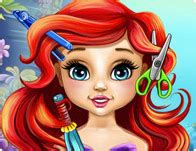 ariel hairstyles games ariel real makeover dress up gal
