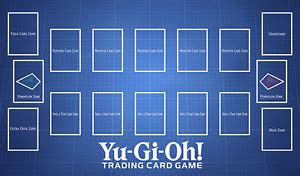 yugioh card zones template c1564 free mat bag custom playmat yugioh card play