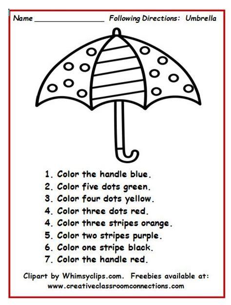 Listening Skills Worksheets For Kindergarten by Best 25 Listening Activities Ideas On