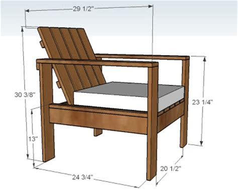 ana white simple outdoor lounge chair diy projects