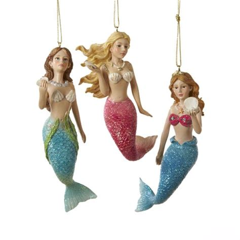 mermaid ornaments the sea ornaments it s time