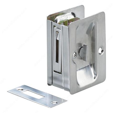 Pocket Door Pull With Privacy Lock Rectangular Glass Pocket Door Hardware