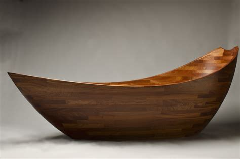 wooden bathtub salish sea bathtub solid wood tub seth rolland