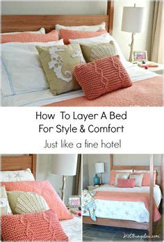 how to make a bed hotel style 1000 images about dream home bedrooms on pinterest