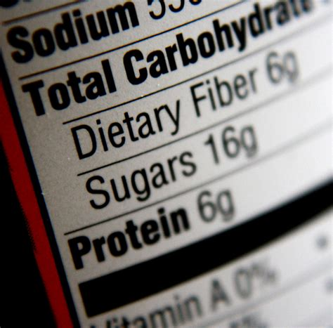 carbohydrates nutrition label nutritional information label carbohydrates sugars