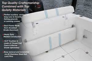 Cost Of Upholstery Cleaning Marine Seats Back Rest For Boats Birdsall Marine Design
