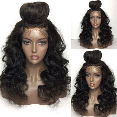 Front Wave Hairstyle by Shaggy Free Part Wave Lace Front Human