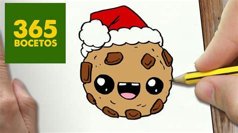 imagenes de galletas kawaii como dibujar una galleta para navidad paso a paso dibujos