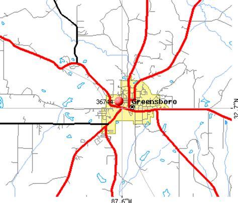 greensboro zip code map 36744 zip code greensboro alabama profile homes