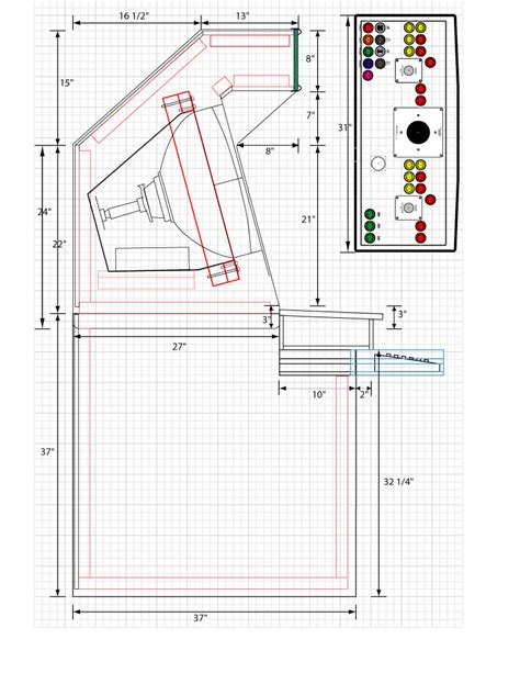 mame arcade cabinet plans mame cabinet