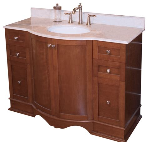 bathroom vanity bases only traditional birch vanity base only cherry 47