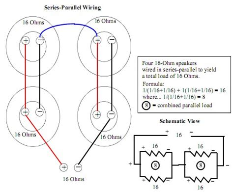 understanding series and parallel wiring in 412 cabinets