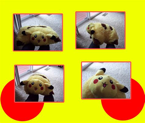 Where Can I Buy A Pillow Pet In A Store by Pikachu Pillow Pet By Flowertigers On Deviantart
