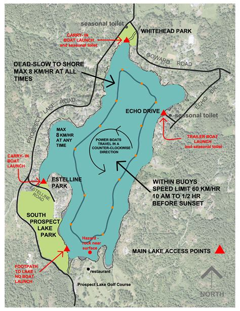 prospect park boating prospect lake boating access district of saanich