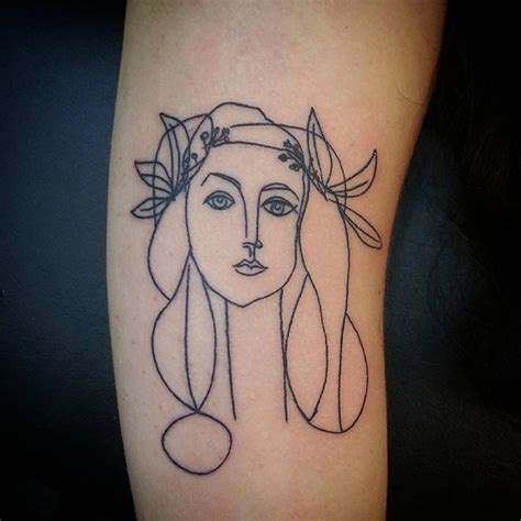 picasso tattoos 15 picasso inspired ideas for bored panda