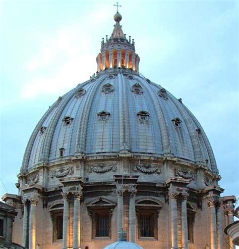 altezza cupola di san pietro la cupola di san pietro