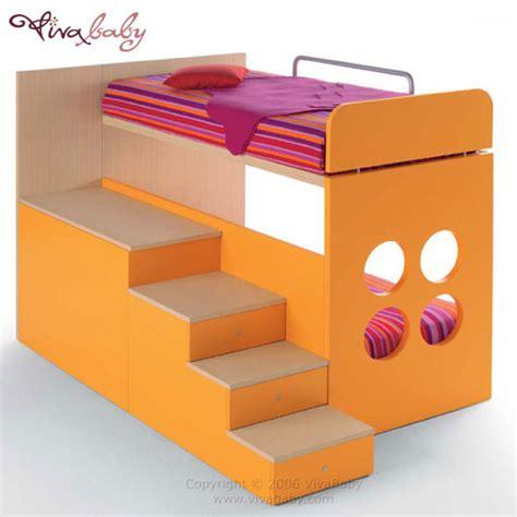 step bunk beds step storage bunk bed