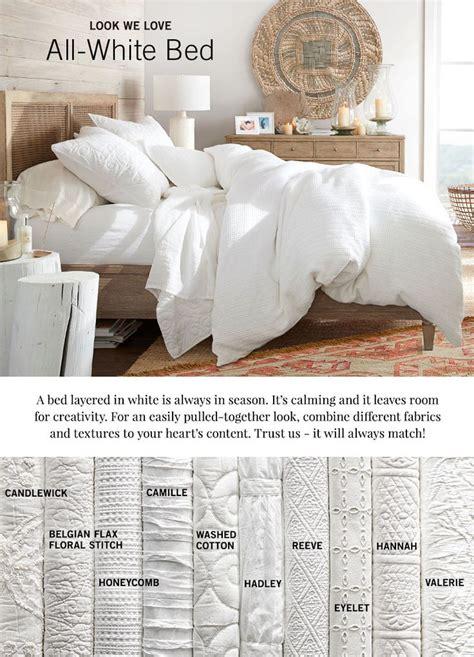 pottery barn white comforter best 25 pottery barn bed ideas on pinterest bedding