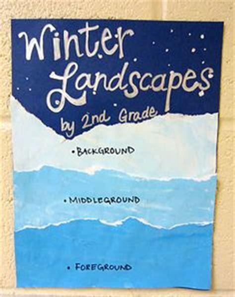 Winter Landscape Ks2 Elementary Winter On Winter