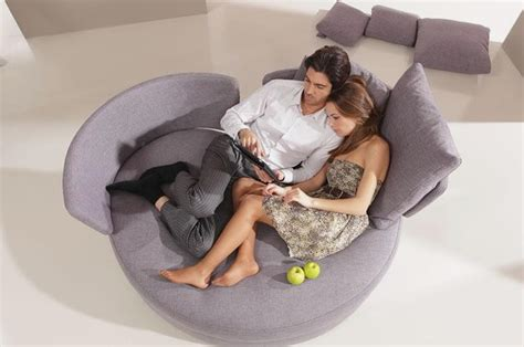Unique And Comfortable Sofa In Love Shape My Apple Sofa
