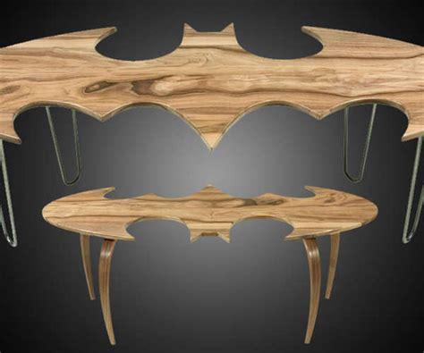 superheroic coffee tables batman logo