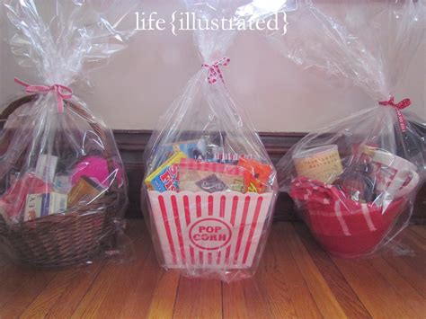valentines basket ideas for illustrated gift basket ideas