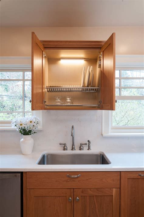 Kitchen Dish Rack Ideas Baroque Dish Drying Rack Mode Seattle Transitional Kitchen Remodeling Ideas With Cabinet Dish
